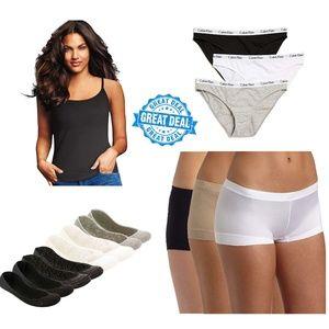Lot of 4 Maidenform etc Panties/Camisole Mix S